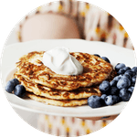 Keto & low-carb pancakes