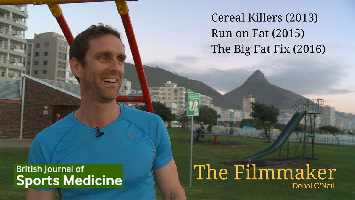 Donal O'Neill shares the story behind his low-carb movies in BJSM