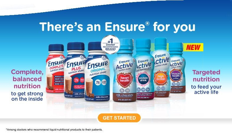 "Ensure – the ""healthy"" drink that contains mostly sugar and refined carbs"