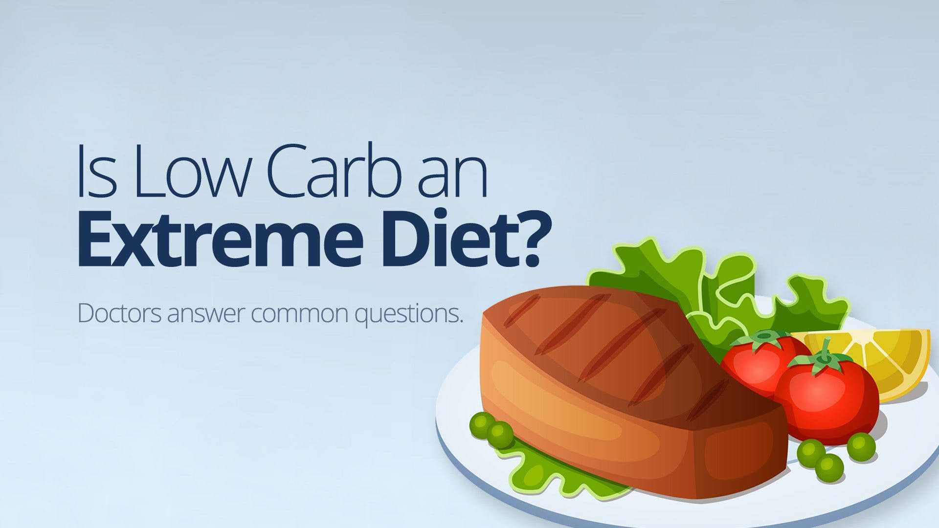 Is low carb an extreme diet?