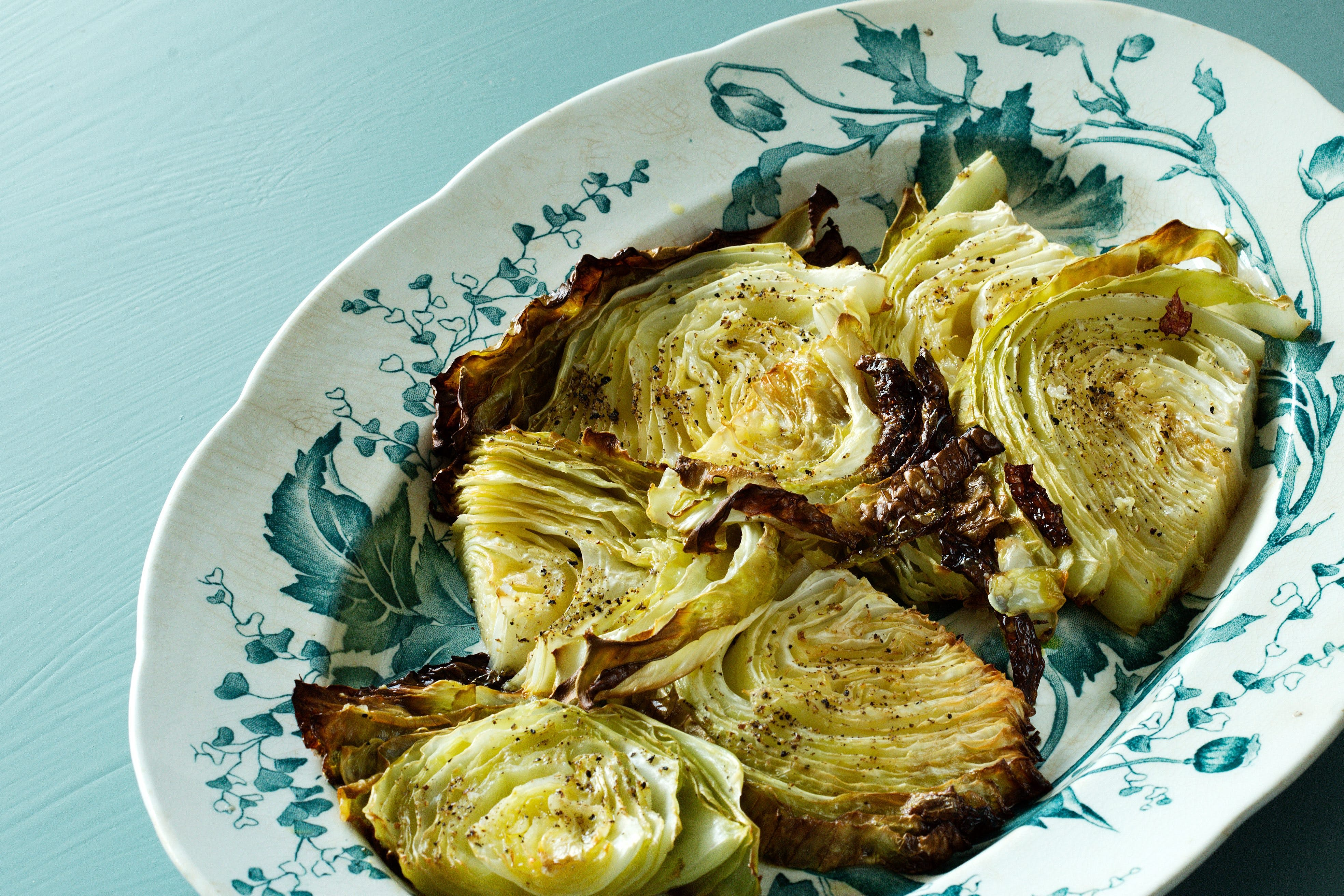 Roasted Cabbage - A Quick and Easy Low-Carb Side Dish