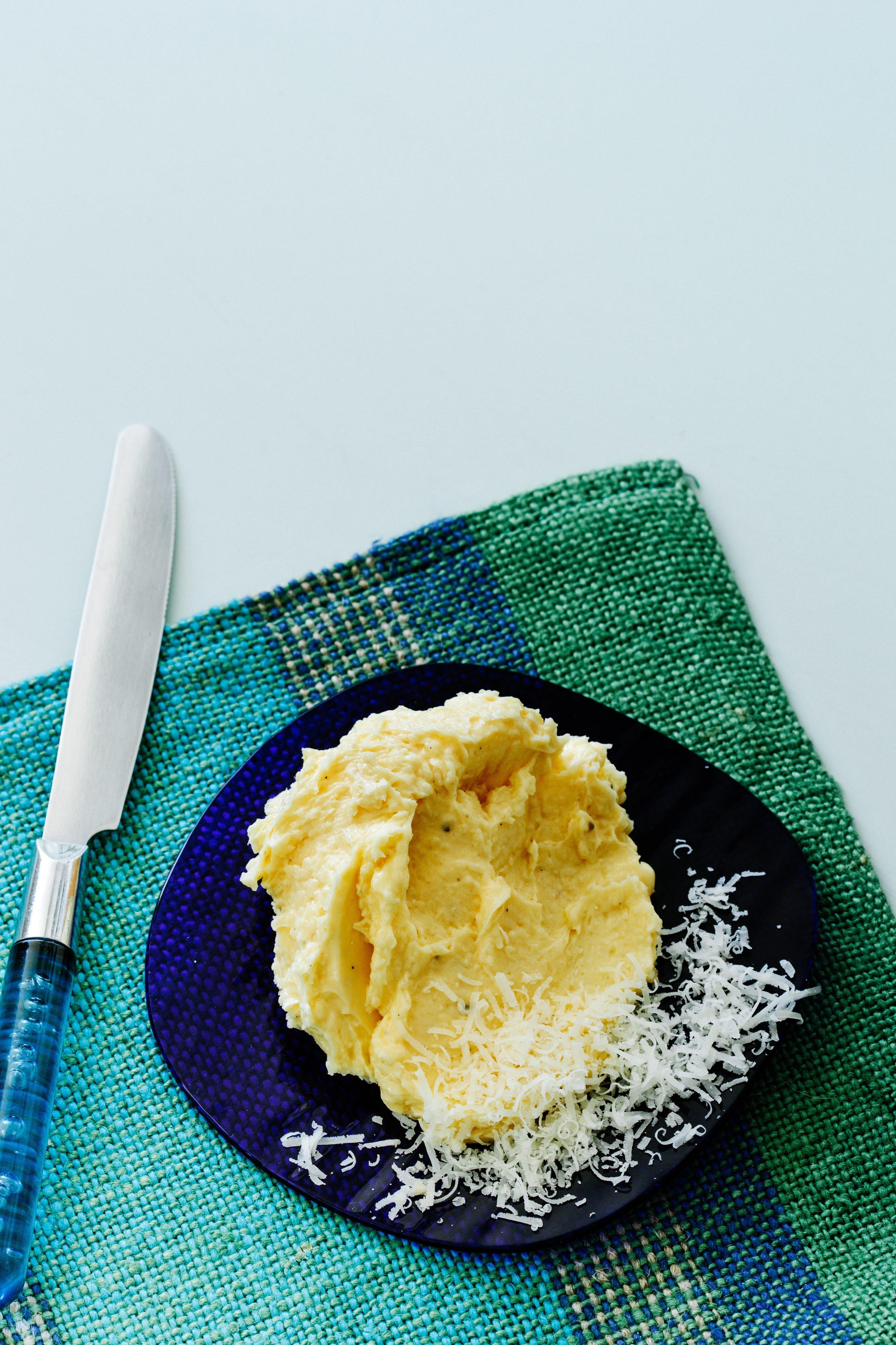 Parmesan butter