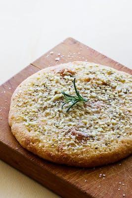 Keto garlic and rosemary focaccia