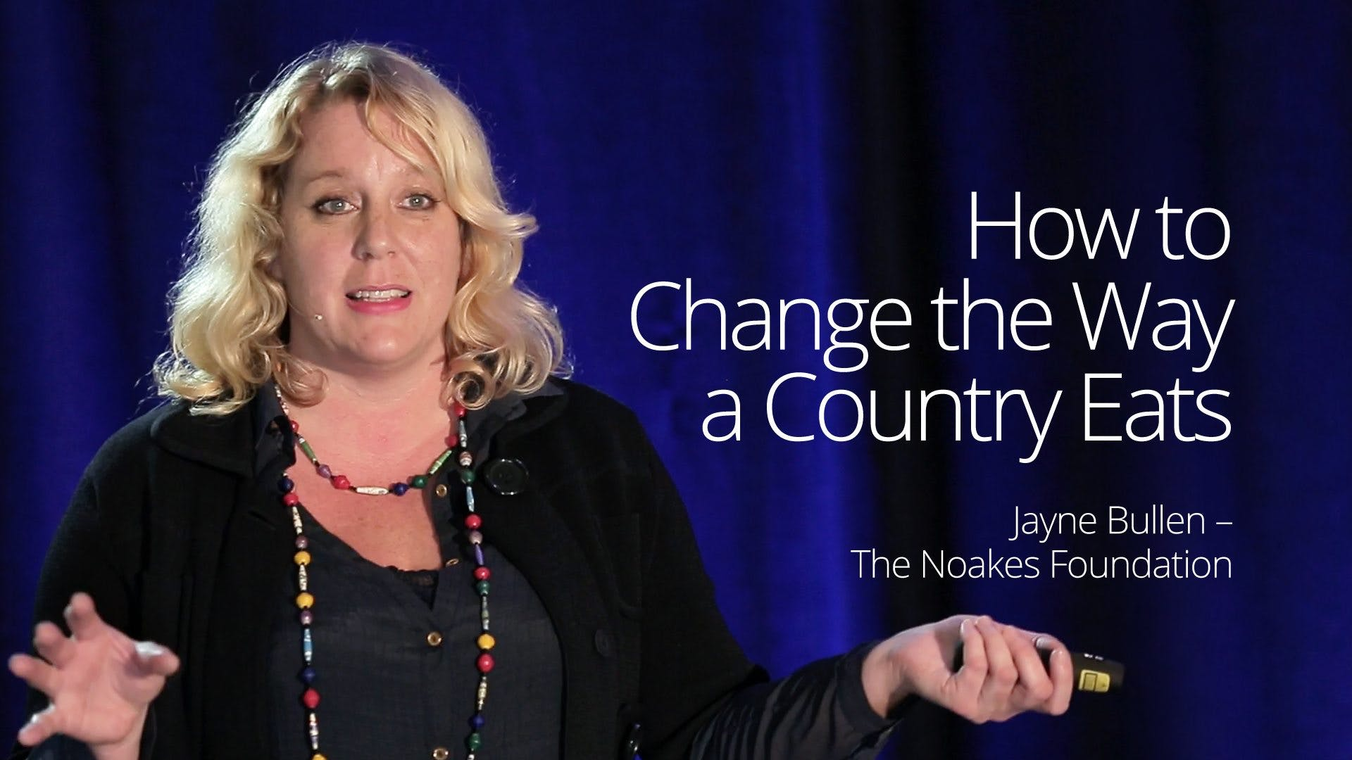 How to Change the Way a Country Eats