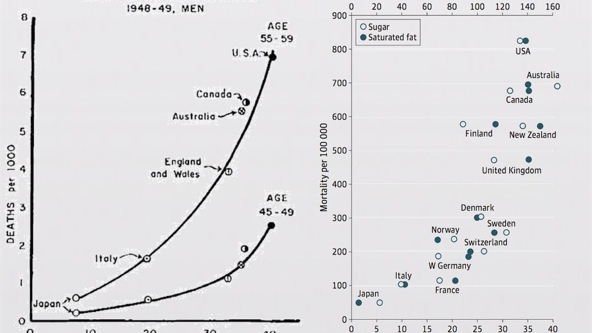 The Hidden Truth Behind Ancel Keys' Famous Fat Graph