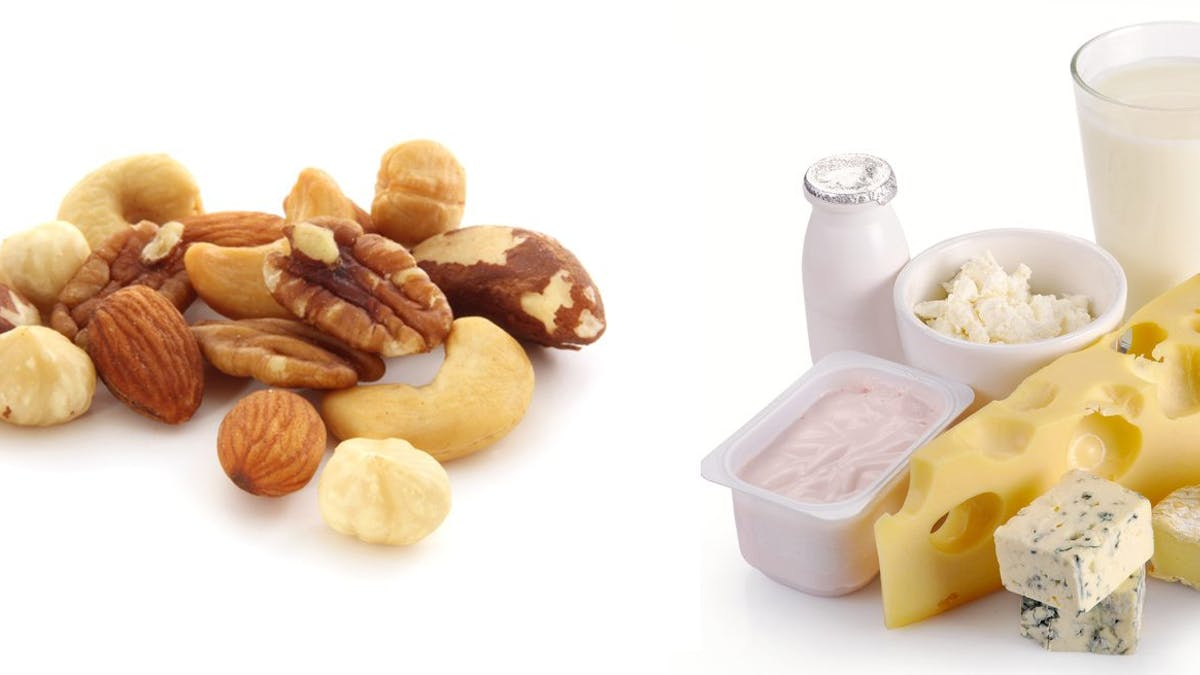 Low-carb hack #3 – eat less of dairy products and nuts