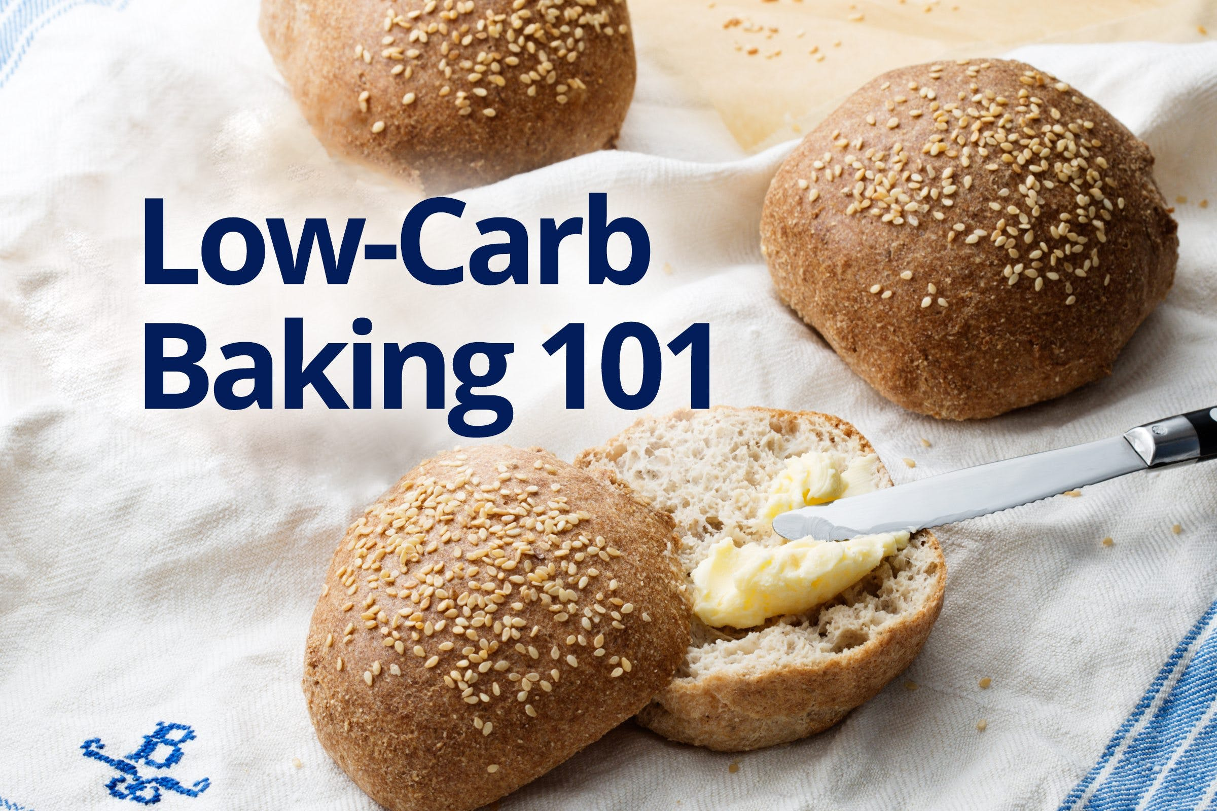 Low-carb baking