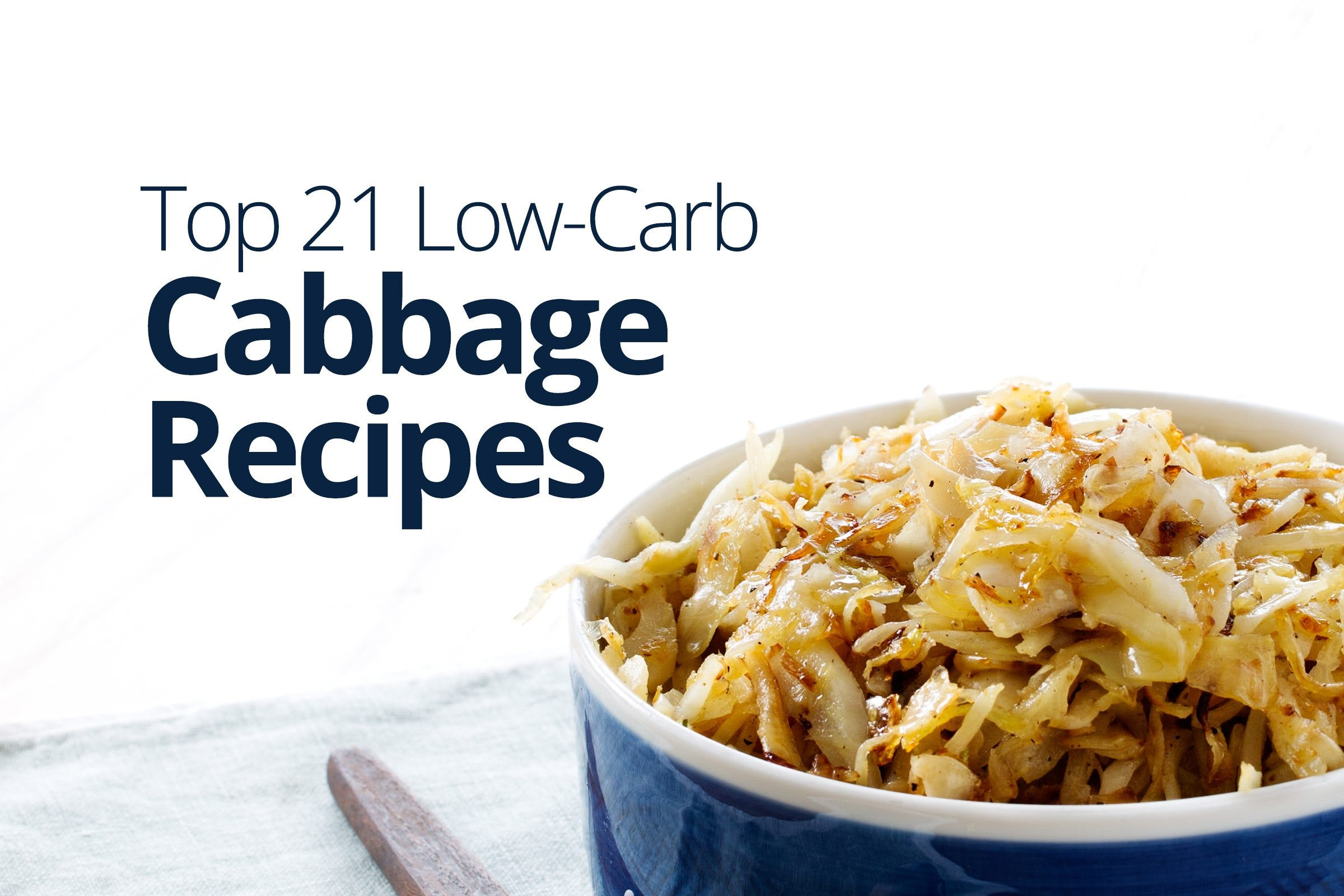 Low-carb and keto cabbage recipes