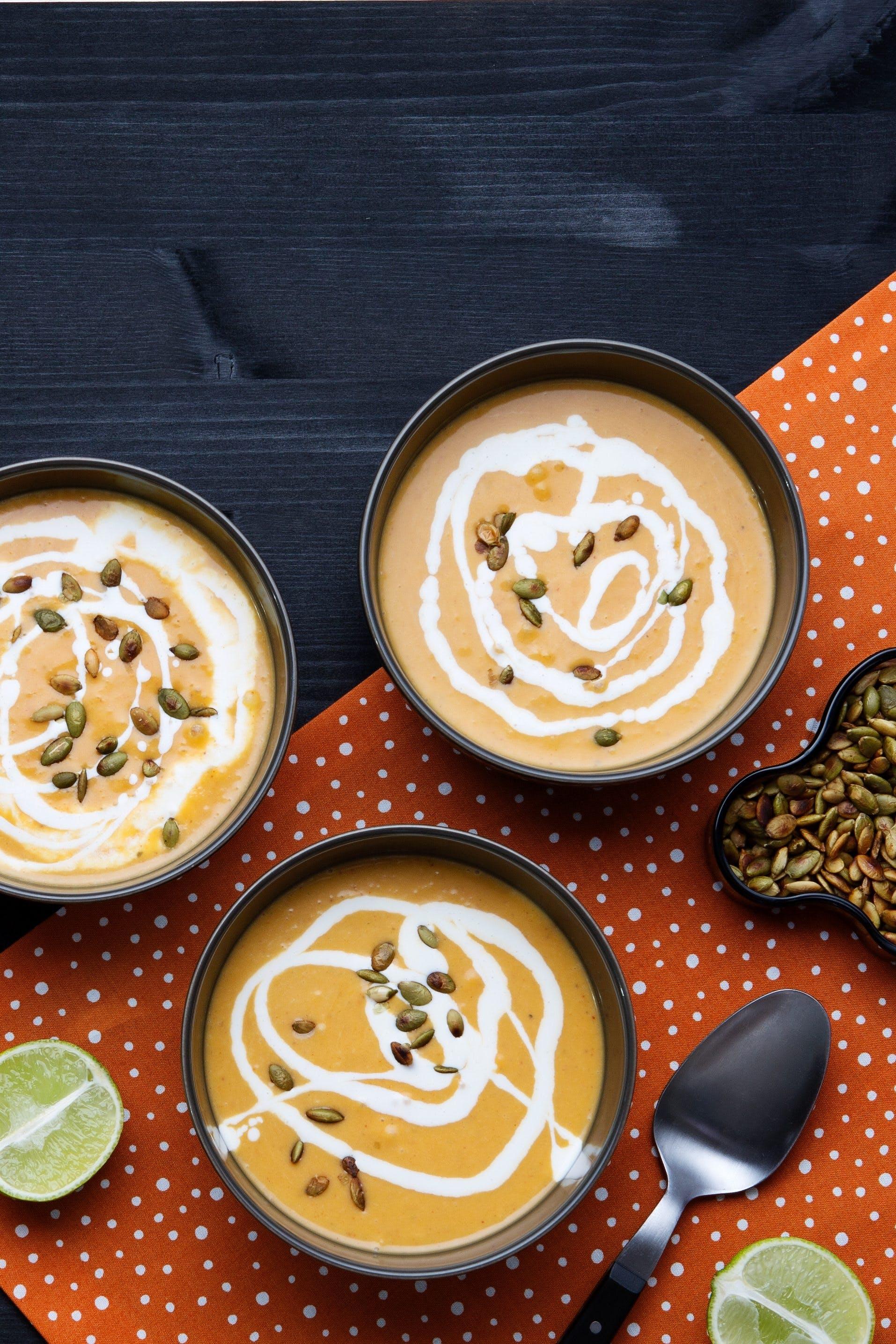 Low-carb pumpkin soup