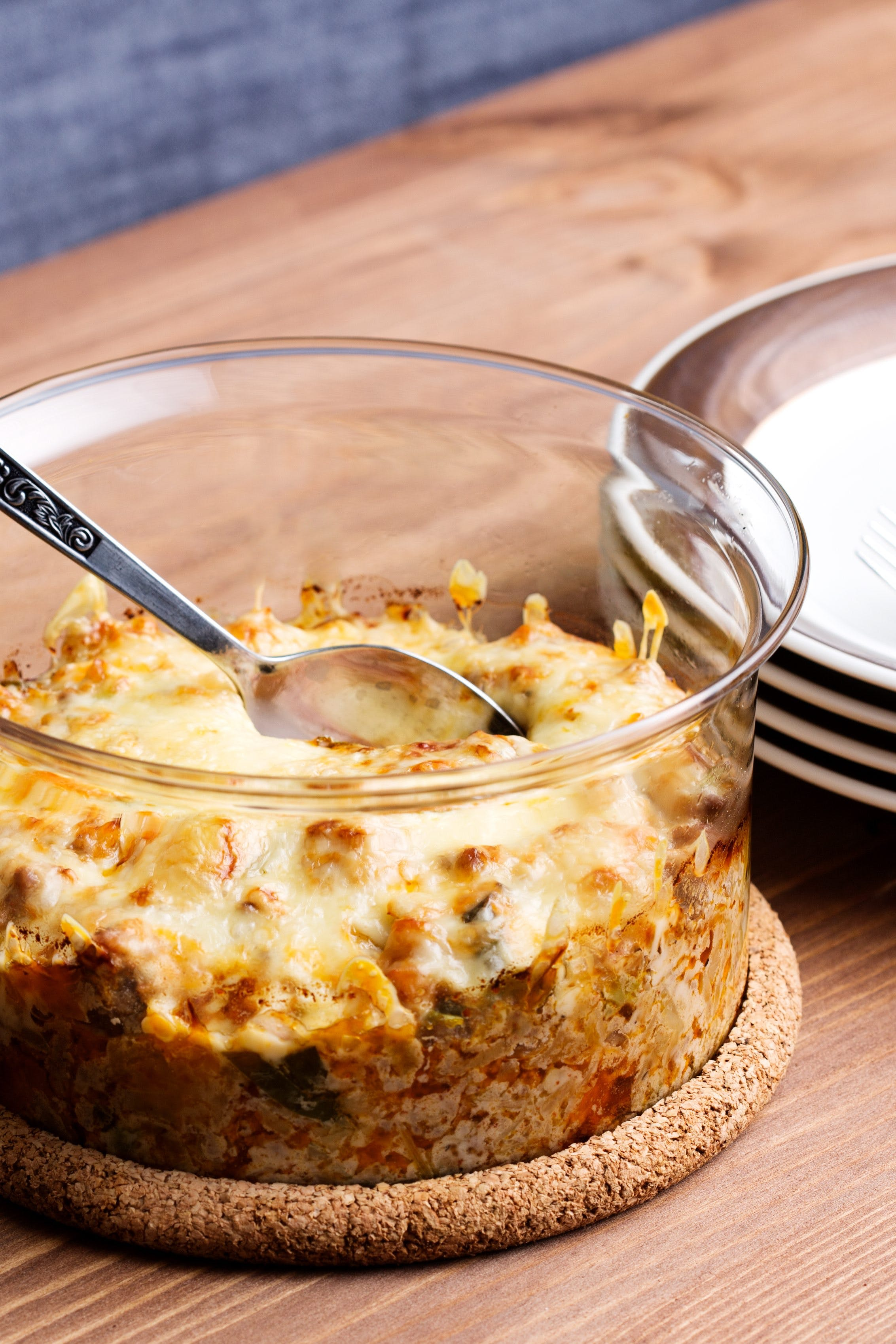 Stuffed low-carb cabbage casserole
