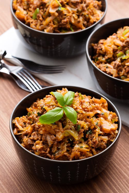 Keto Italian cabbage stir-fry