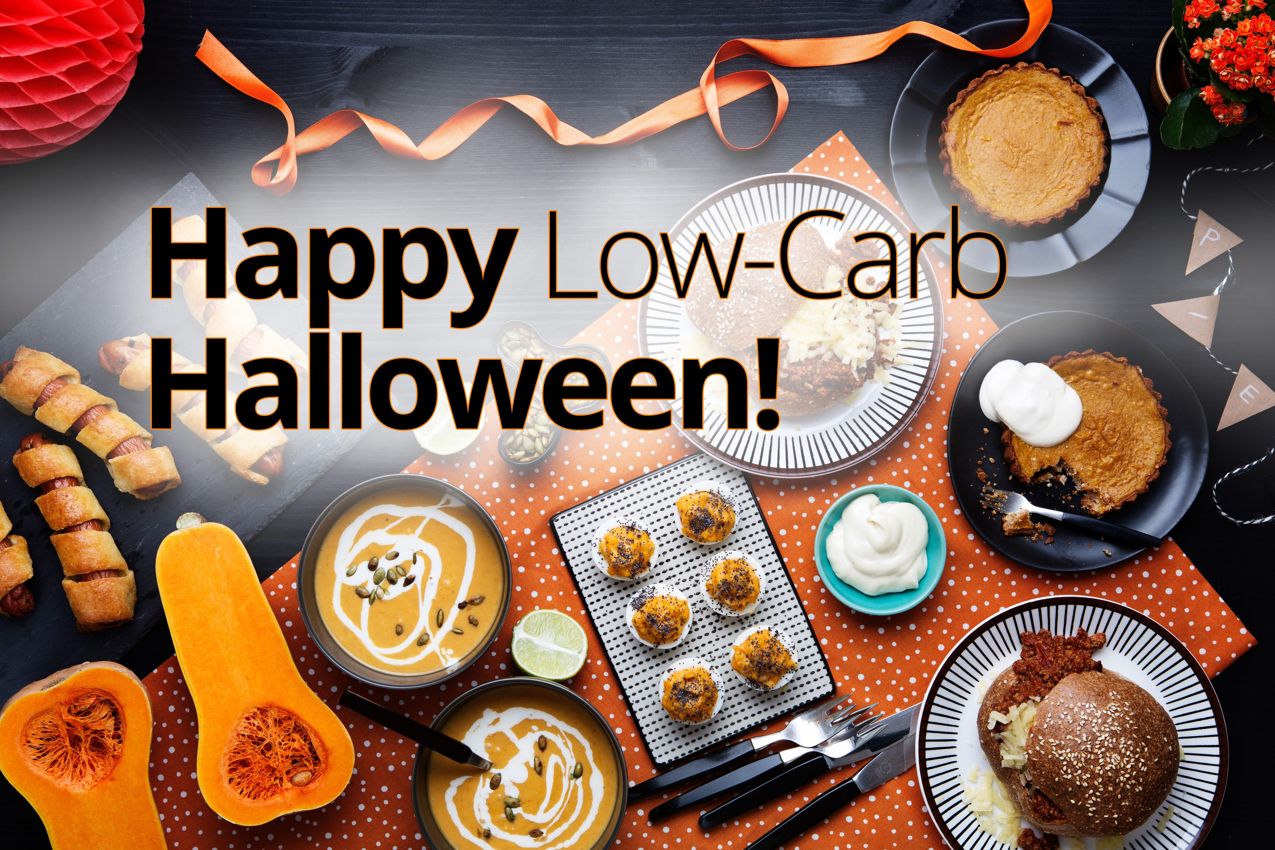 Low-carb halloween recipes