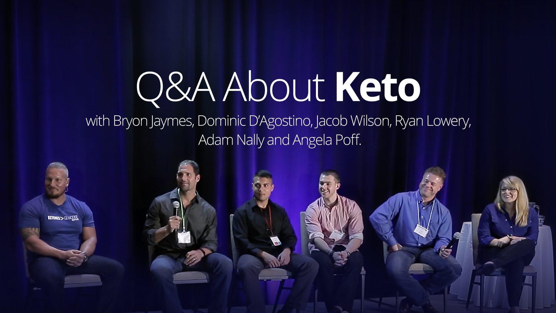 Q&A about keto