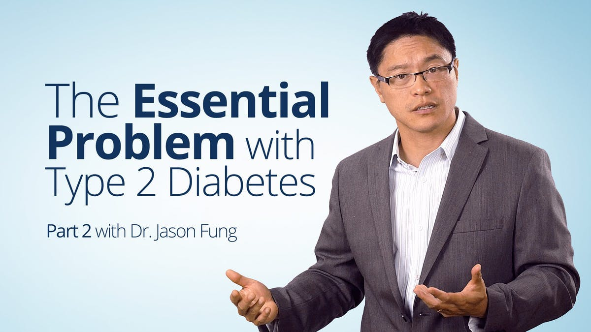 What is the essential problem of type 2 diabetes?