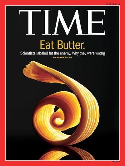 <strong>#1</strong> Low-Carb Fear: Saturated Fat