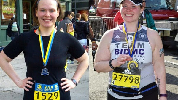 """Marathon training made me fat"""