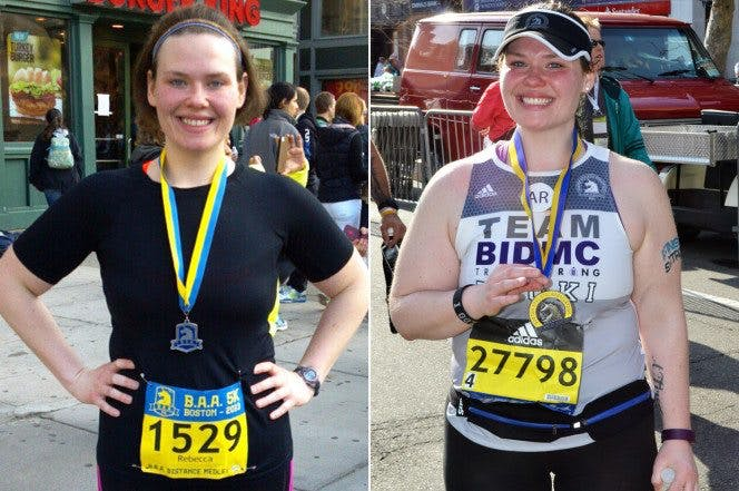 Becki Ledford gained 25 lbs over the course of three years