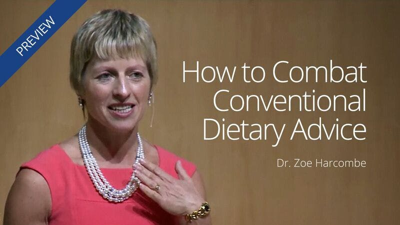 How to Combat Conventional Dietary Advice
