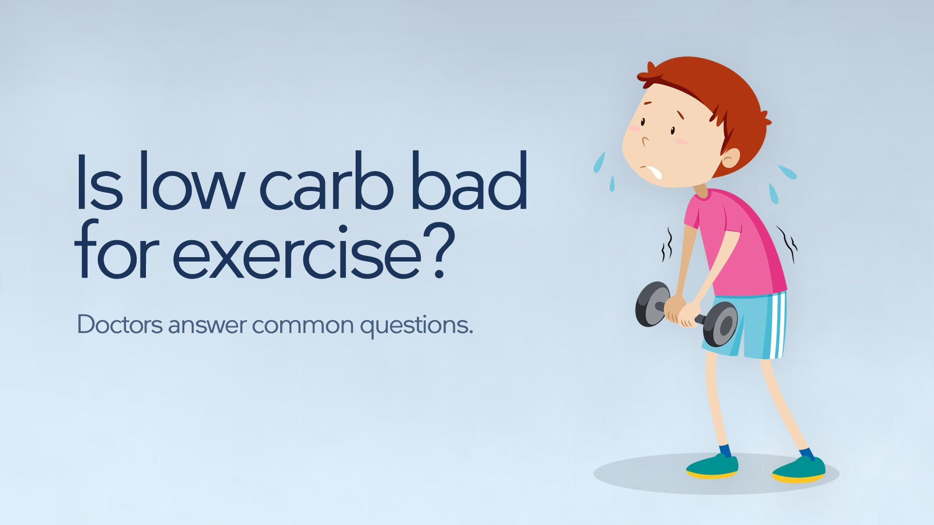 Is low carb bad for exercise?