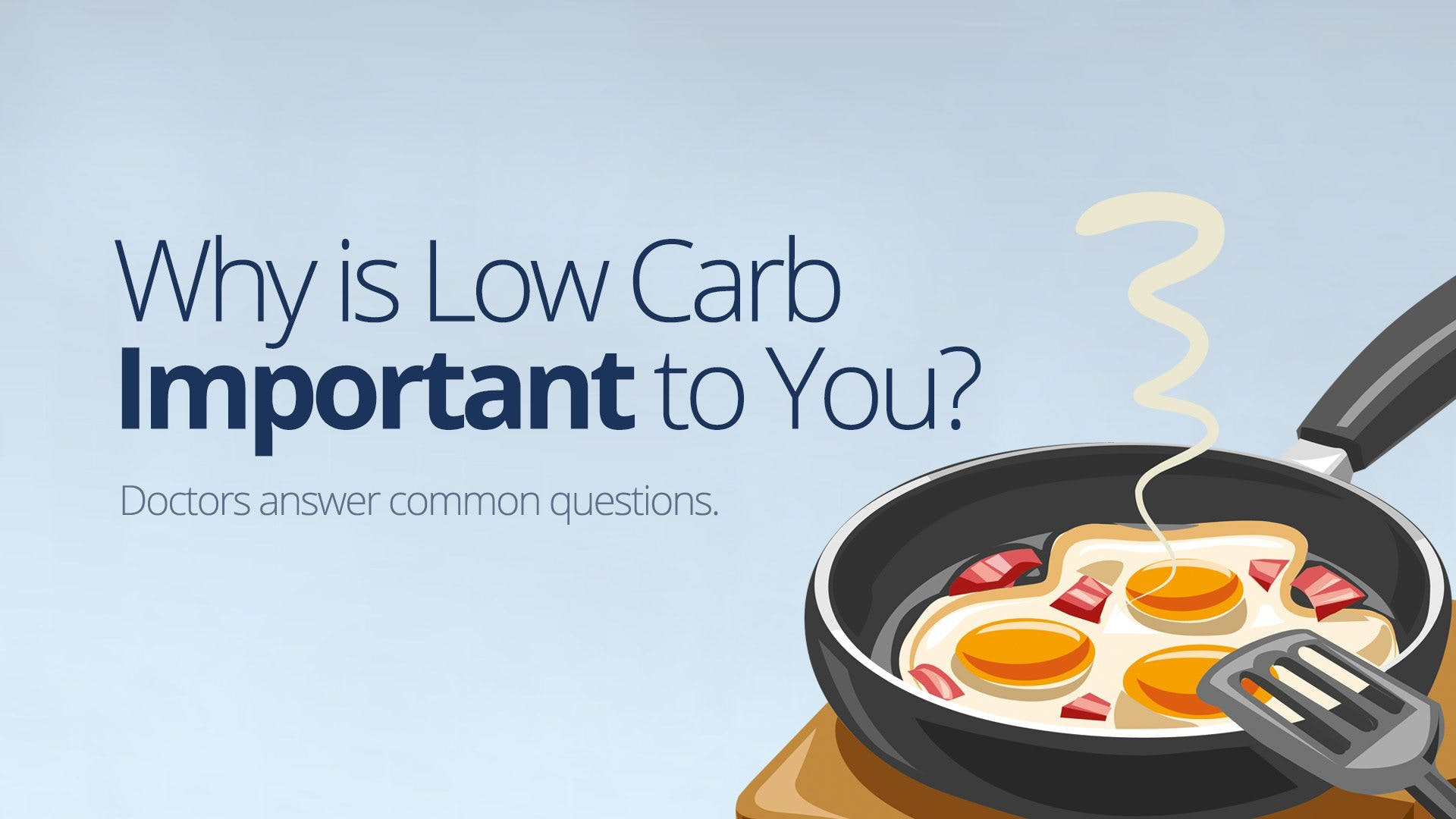 Why is low carb important to you?