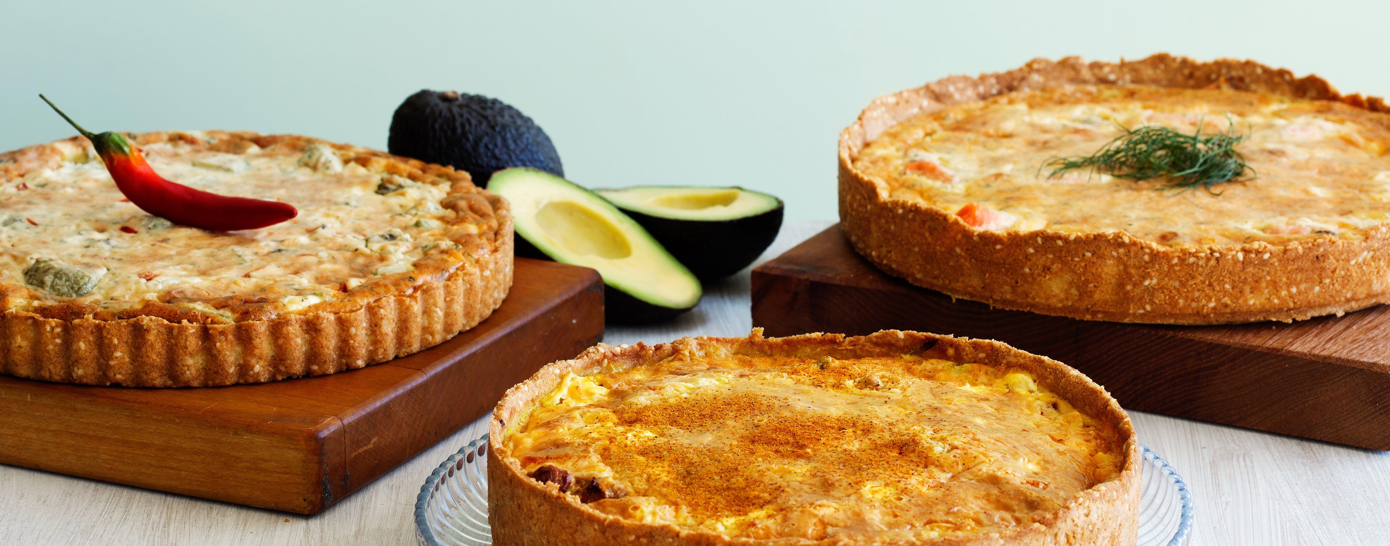 Low-carb pies