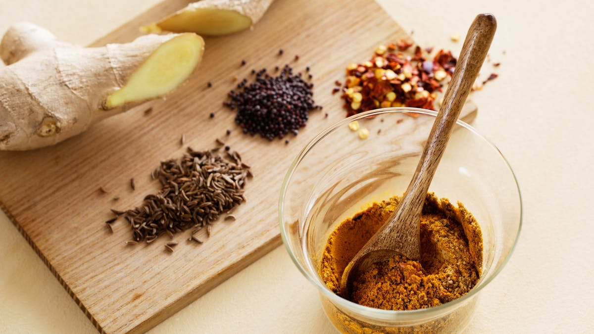Mild curry seasoning