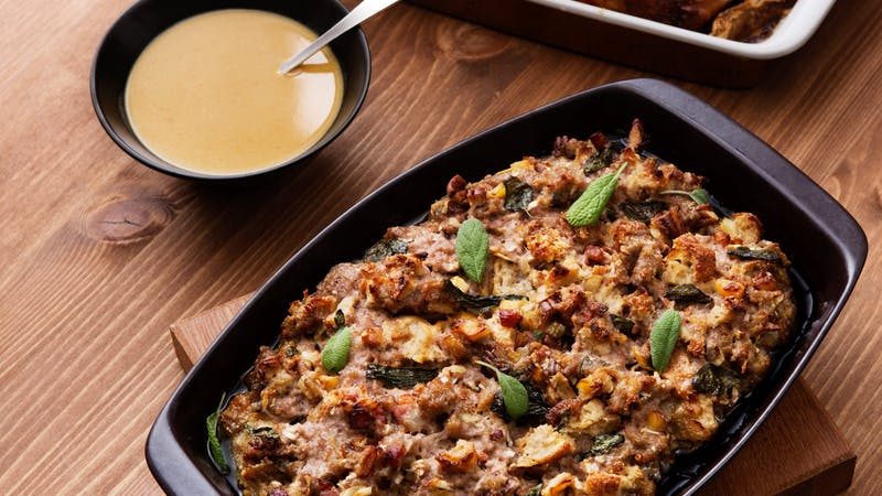 Low-carb stuffing