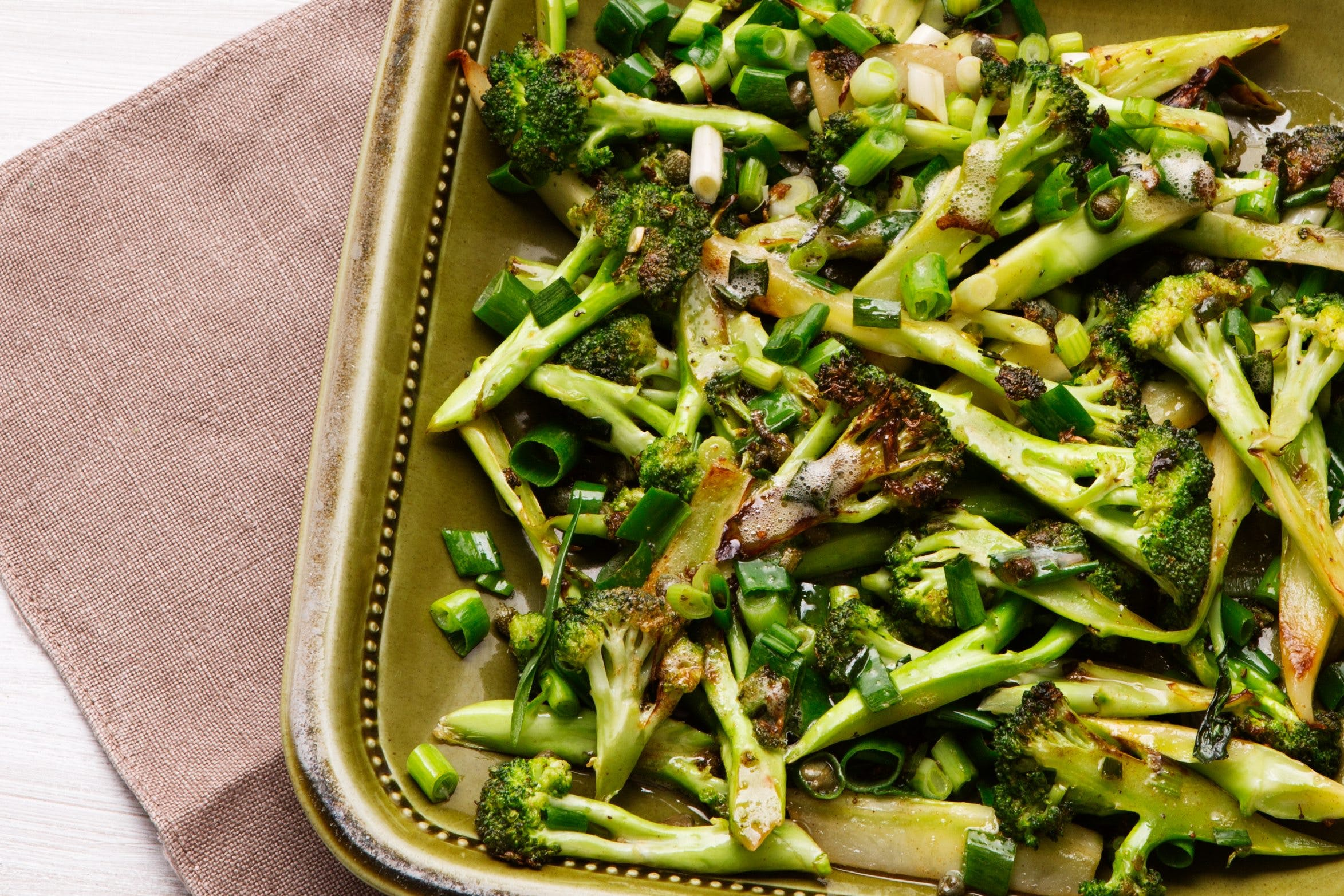 Butter-Fried Broccoli - A Fabulous Low-Carb Side Dish