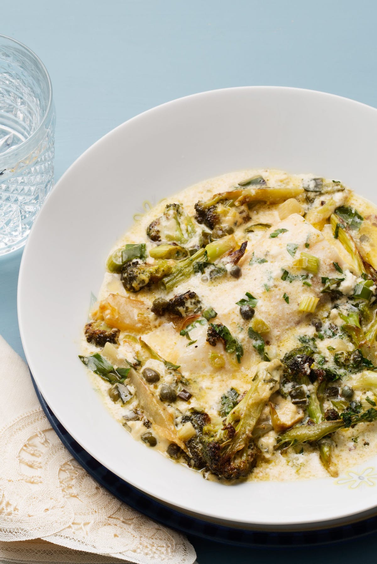 Creamy Keto Fish Casserole With Capers And Broccoli Diet