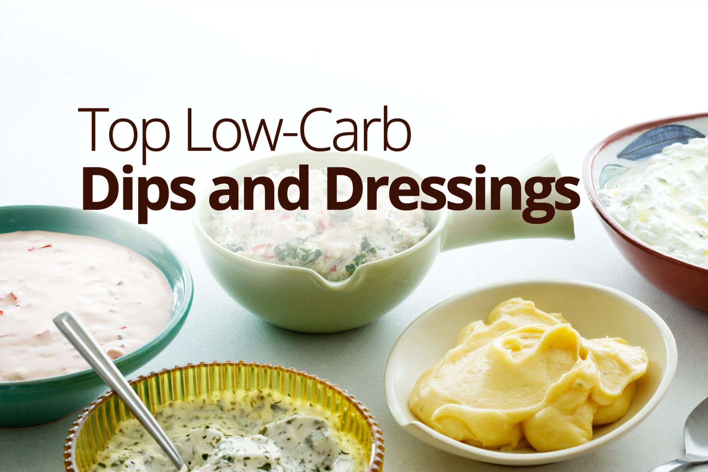 Top low-carb and keto dips and dressings