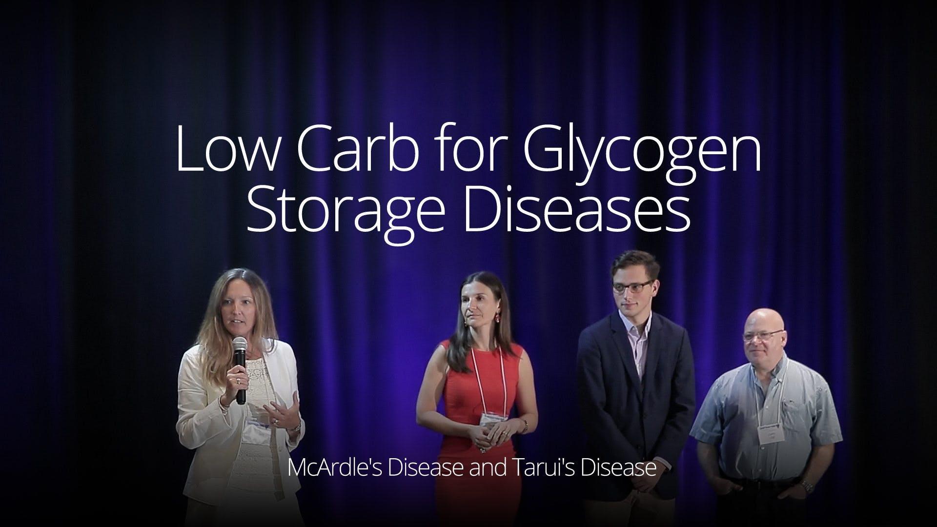 Low Carb for Glycogen Storage Diseases - McArdle Disease (SD 2016)