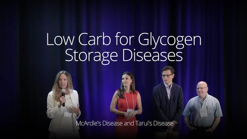 Low carb for glycogen storage diseases - McArdle disease (SD 2016)