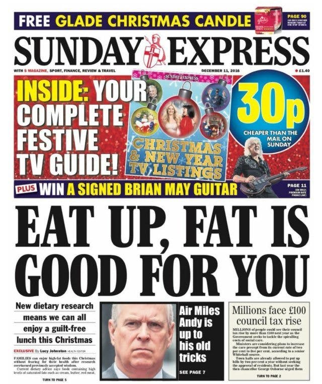 """""""Eat Up, Fat Is Good for You"""""""