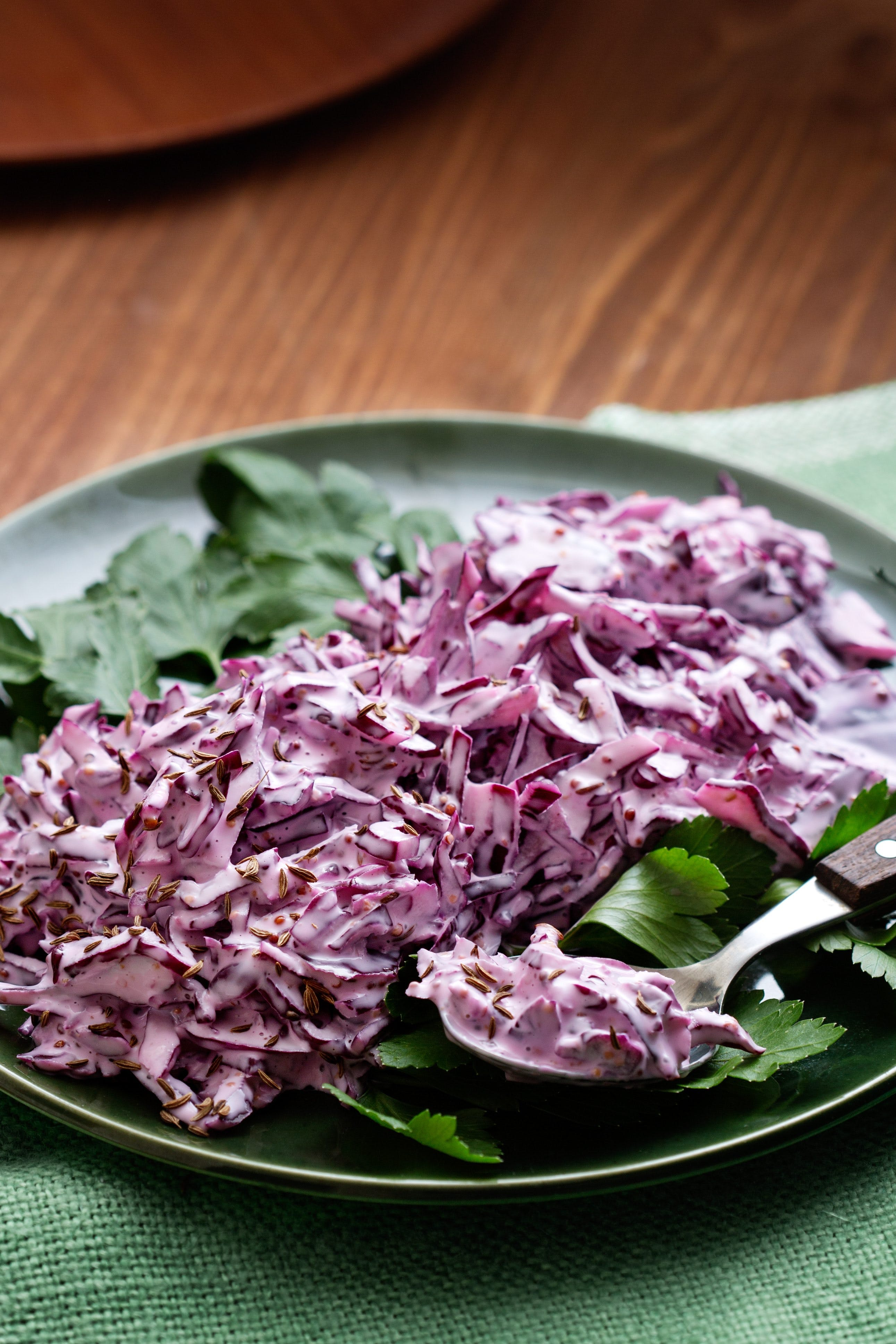 Red coleslaw
