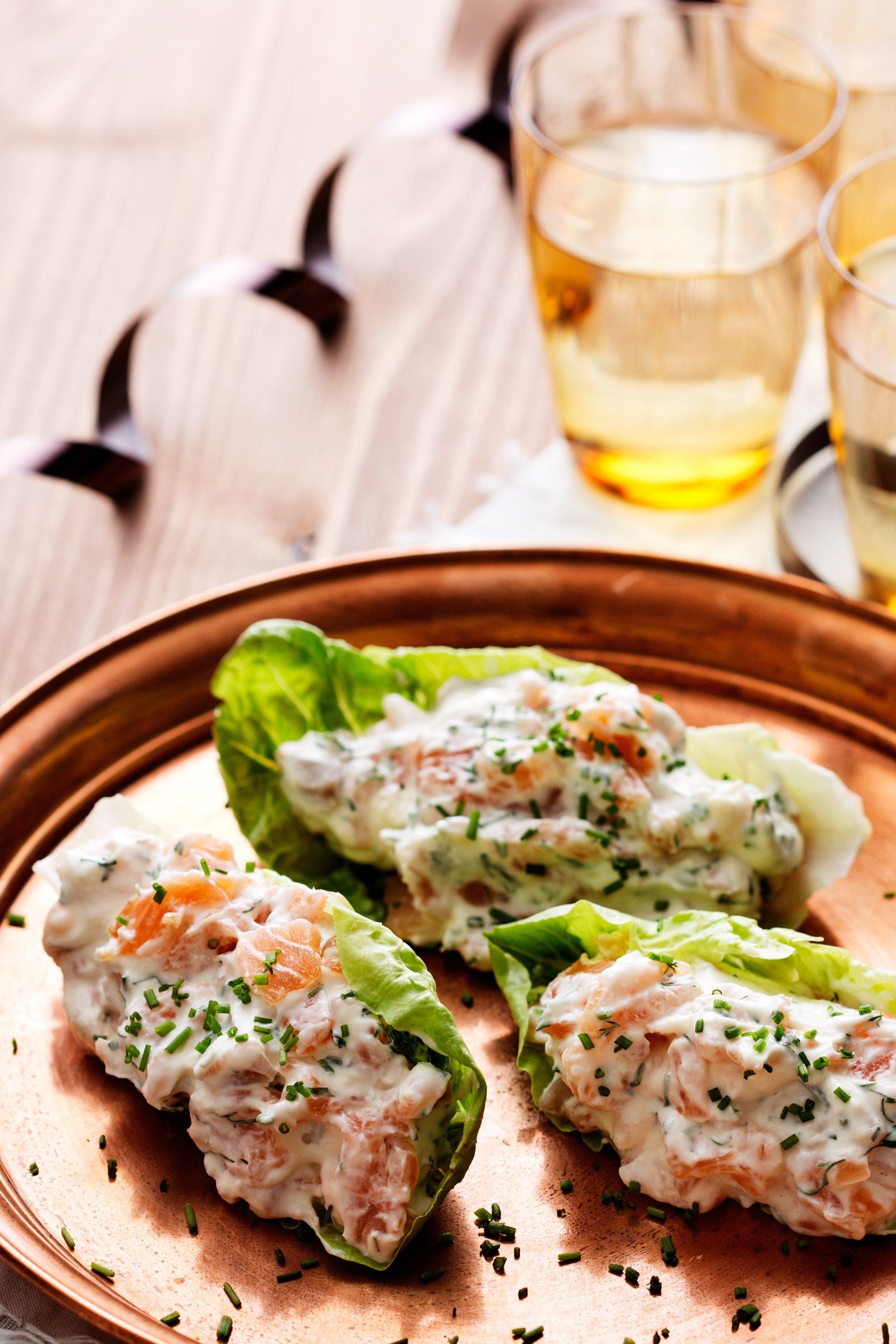 Keto Smoked Salmon Appetizer \u2014 Recipe \u2014 Diet Doctor