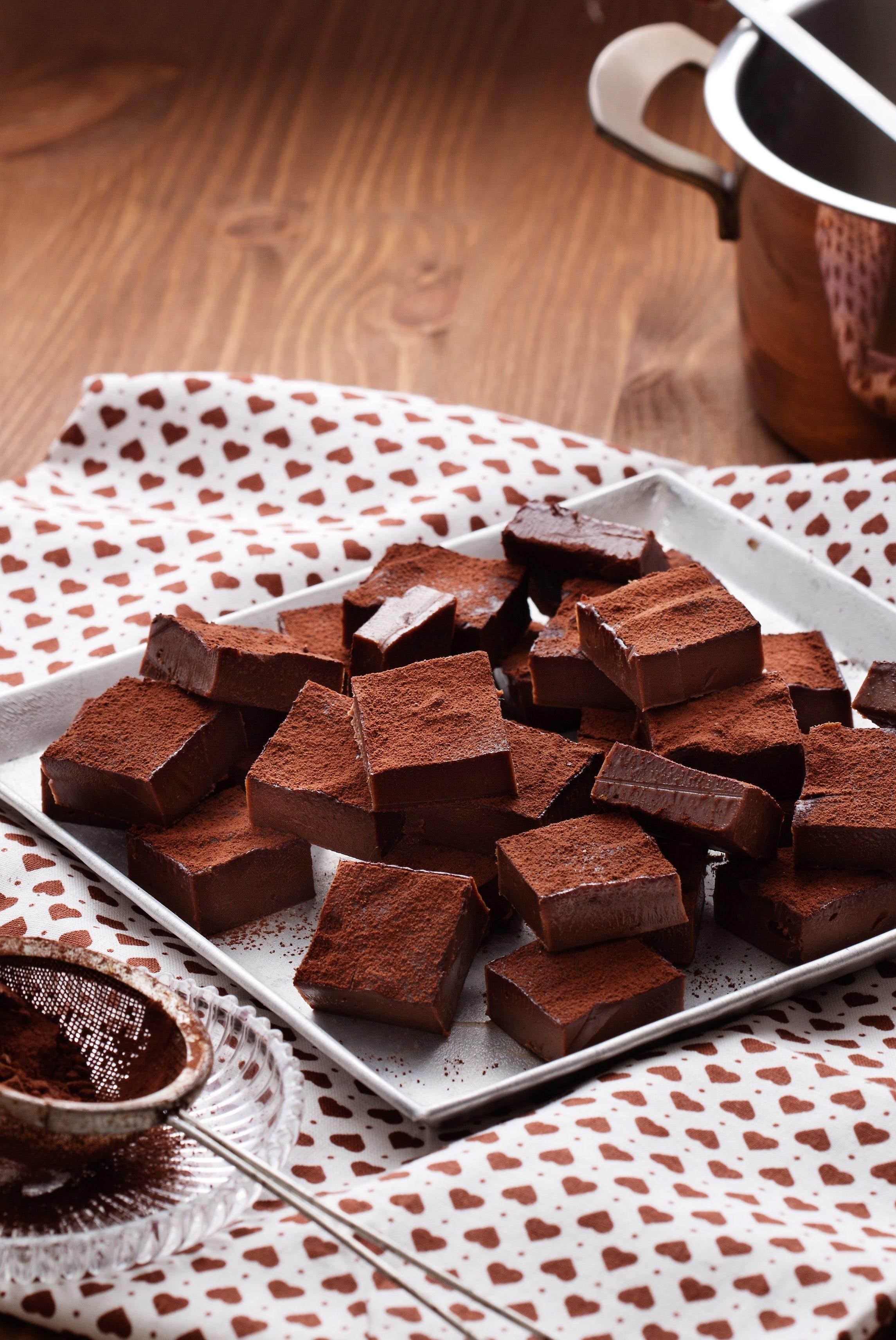 Low-carb chocolate fudge
