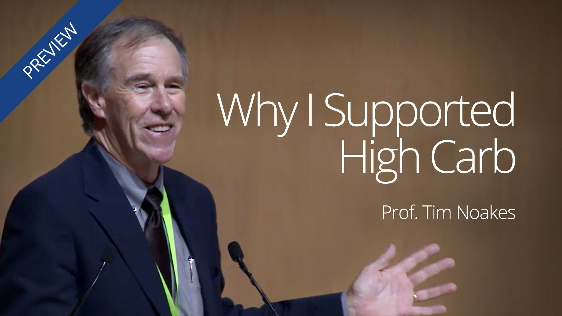 """Why I Supported High Carb"""