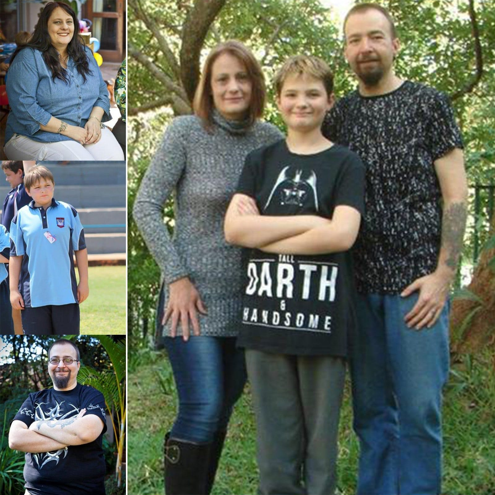 Family Sheds <strong>300 Pounds</strong> on Low Carb