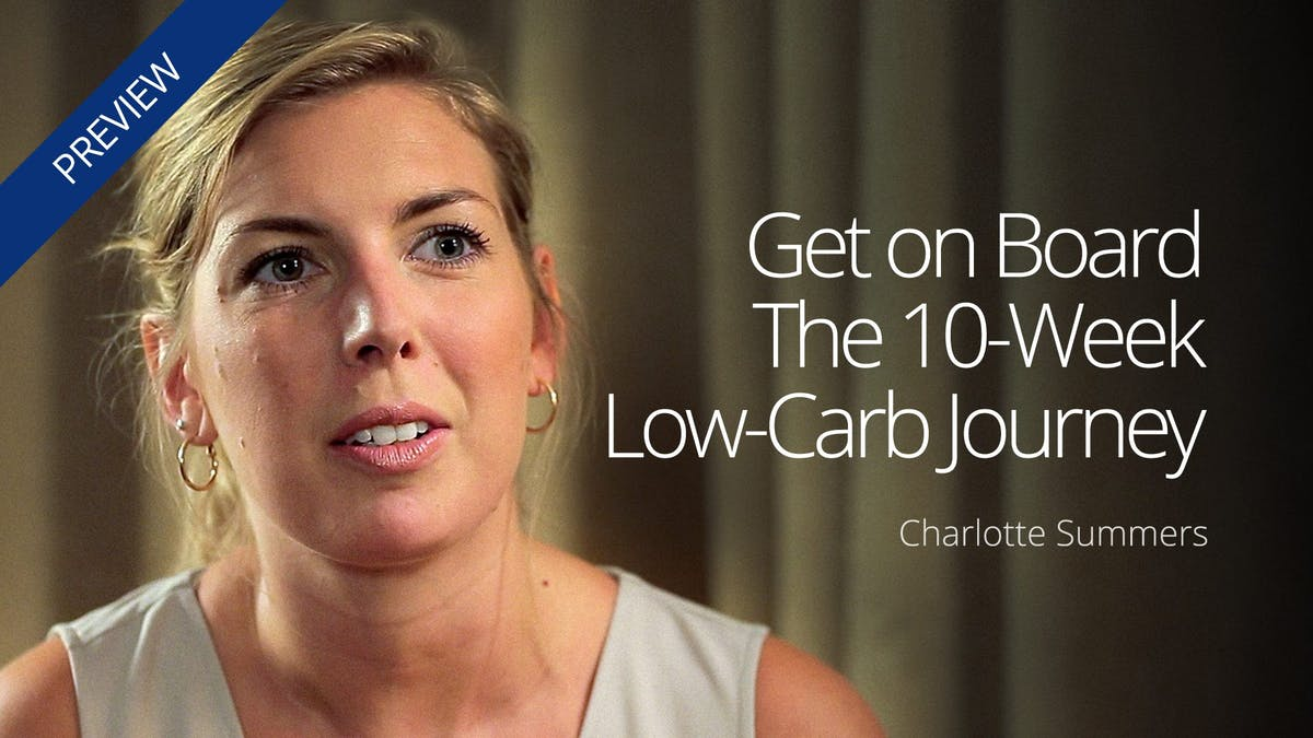 Get onboard the 10-week low-carb journey