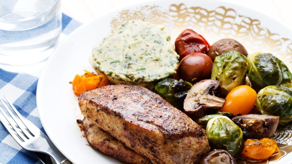 This week's meal plan: tastes like Christmas!
