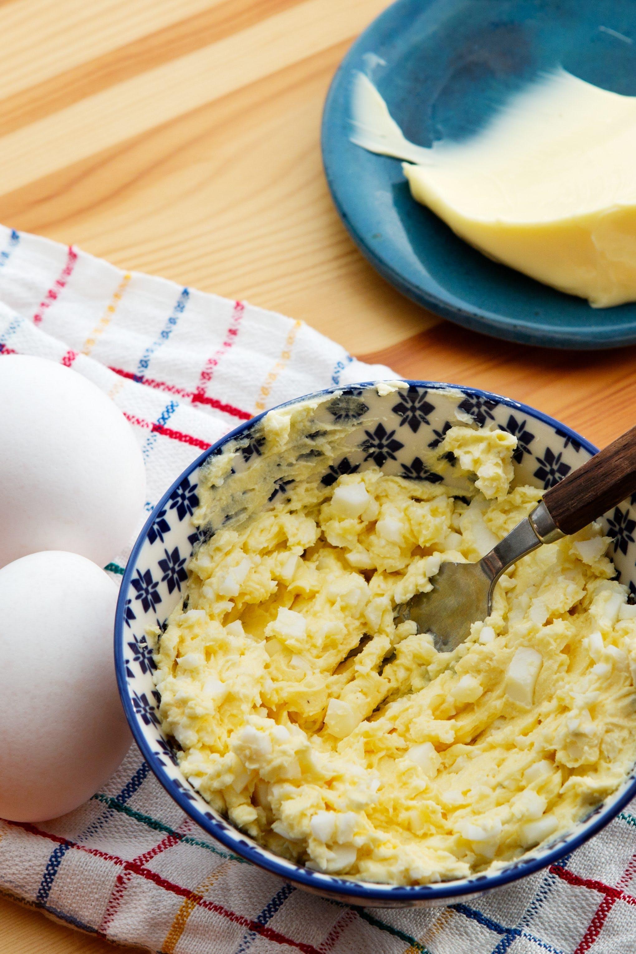 Egg butter