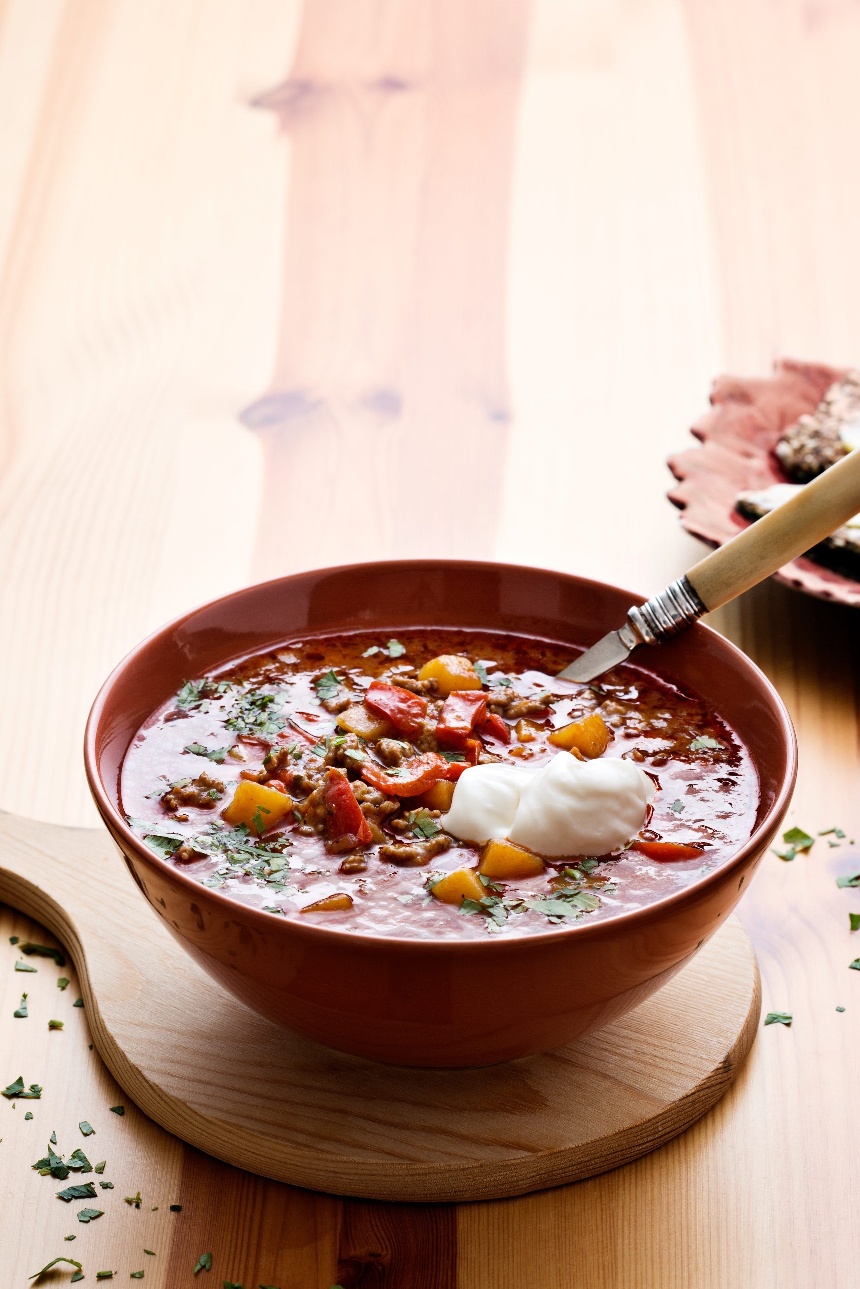 Low-carb Goulash soup