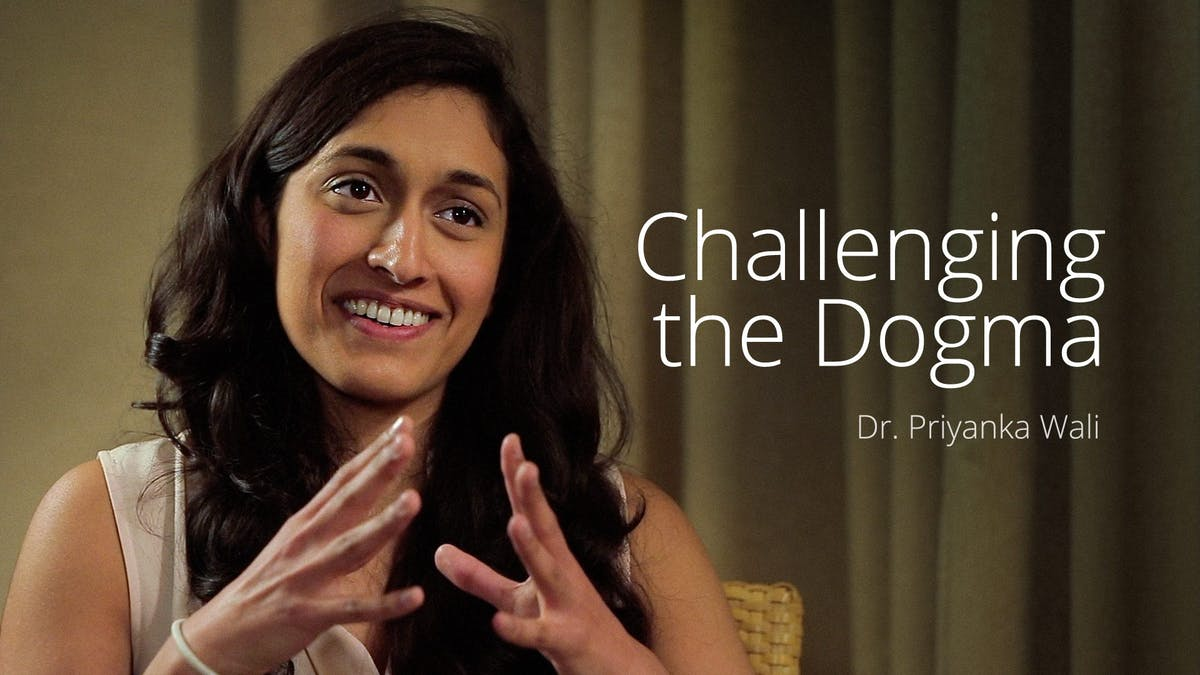 Challenging the dogma