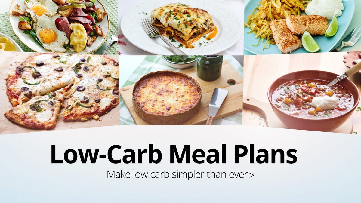 The easy cooking low-carb meal plan