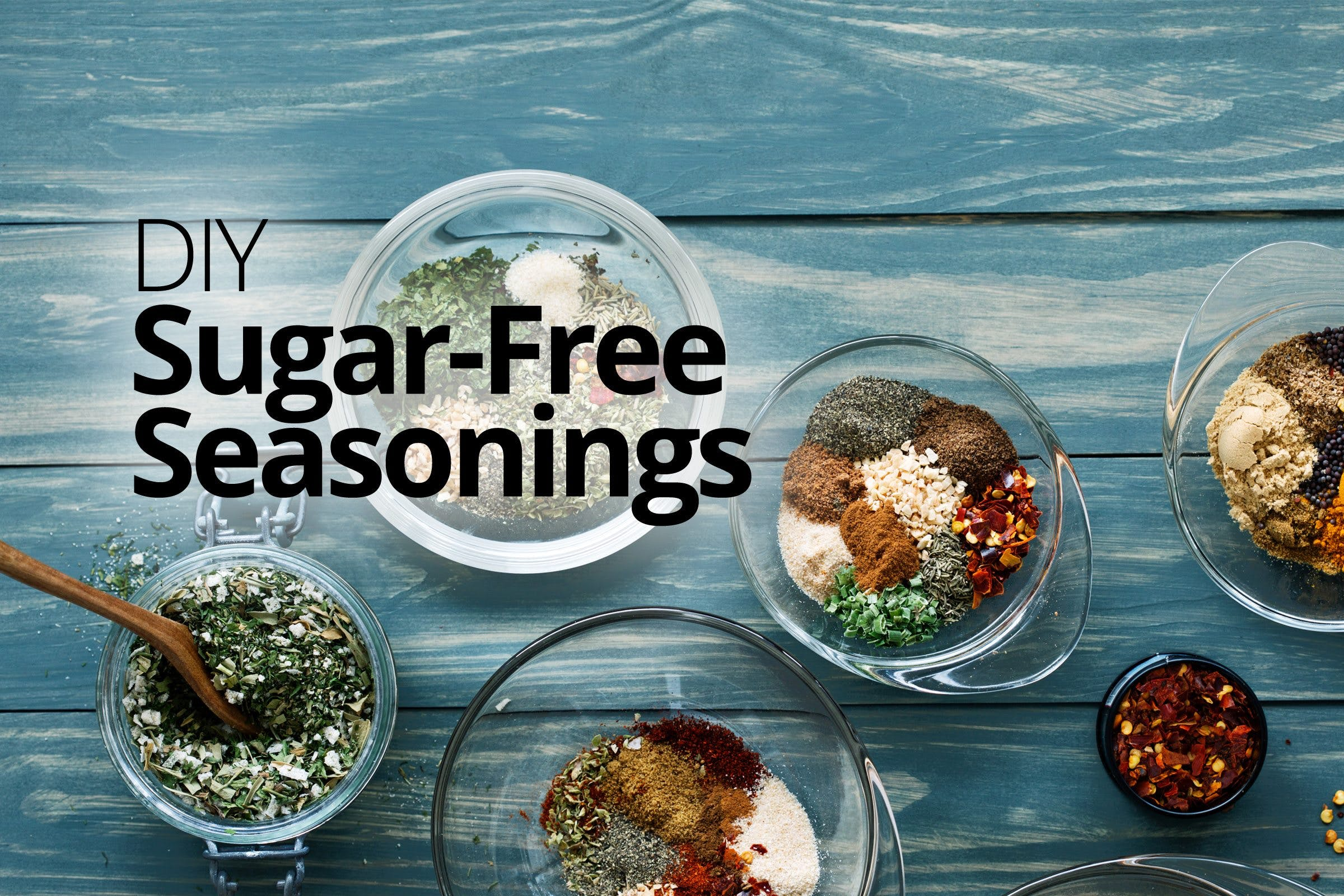 DIY sugar-free seasonings