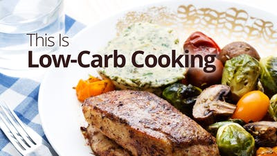 This is low-carb cooking