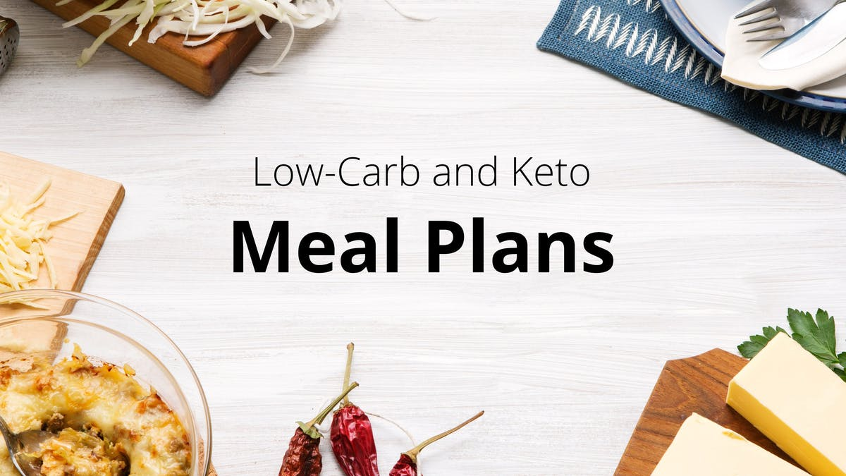 New<strong> Low-Carb</strong> Meal Plan