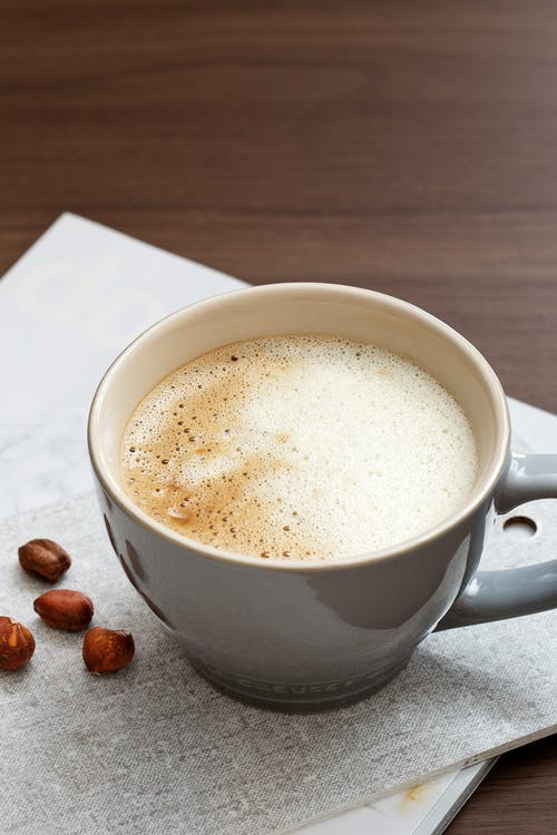 Keto coffee with cream