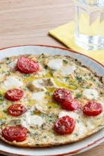 Keto Caprese omelet