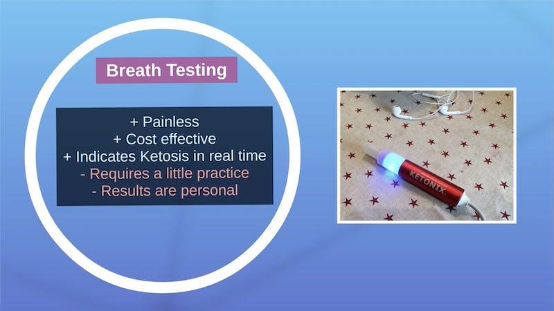 使用酮呼吸分析器